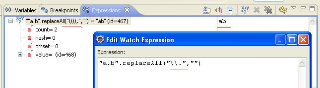 java regex slash 1
