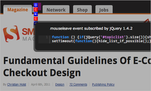 Js-005 in Useful JavaScript and jQuery Tools, Libraries, Plugins