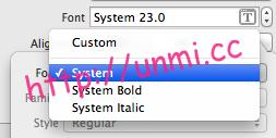 xcode-system-fonts