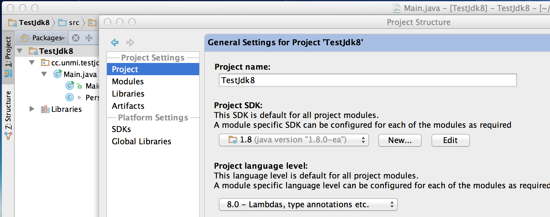 IDEA_Select_JDK8