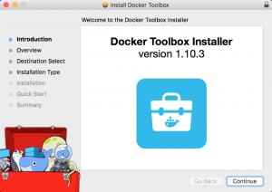Docker Toolbox Installer